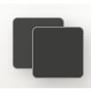 Charcoal-Sensitive textilene dark grey